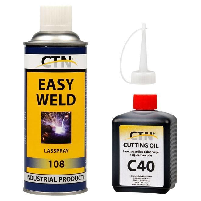 Diverse technische Oliën en Sprays
