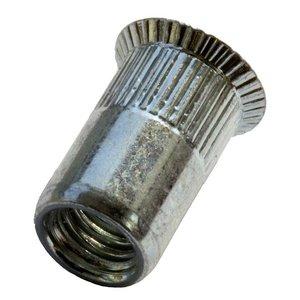 West Coast Tools Blindklinkmoeren met verzonken kop - M8 - klembereik: 1.5-4.5mm - staal - 250 stuks