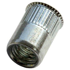 WCT Blindklinkmoeren met gereduceerde verzonken kop - M6 - klembereik: 0.5-3.0mm - staal - 250 stuks