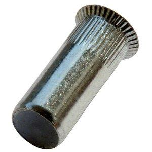 West Coast Tools Blindklinkmoeren gesloten met verzonken kop - M5 - klembereik: 1.5-4.0mm - staal - 250 stuks