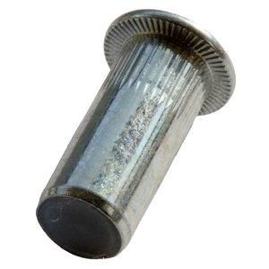 WCT Blindklinkmoeren gesloten met cilindrische kop - M4 - klembereik: 0.5-3.0mm - staal - 250 stuks