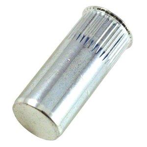 WCT Blindklinkmoeren gesloten met gereduceerde verzonken kop - M8 - klembereik: 0.5-3.0mm - staal - 250 stuks