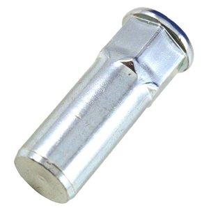 WCT Blindklinkmoeren gesloten half zeskant met cilindrische kop - M5 - klembereik: 0.5-3.0mm - staal - 250 stuks