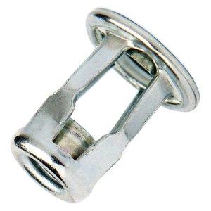 WCT Blindklink spreidmoeren met cilindrische kop - M8 - klembereik: 0.5-5.0mm - staal - 250 stuks