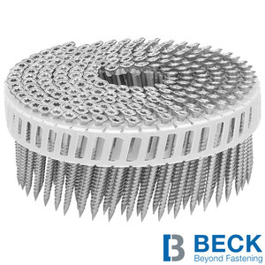 Beck Scrail coilnagels 2,8/3,2x75mm - RVS - 2.000st