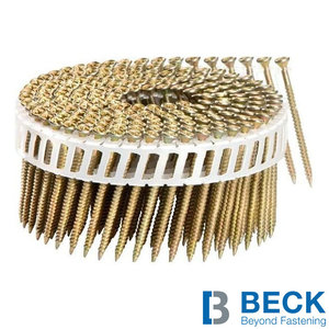 Beck Scrail coilnagels 2,8/3,2x65mm - verzinkt - 2.000st