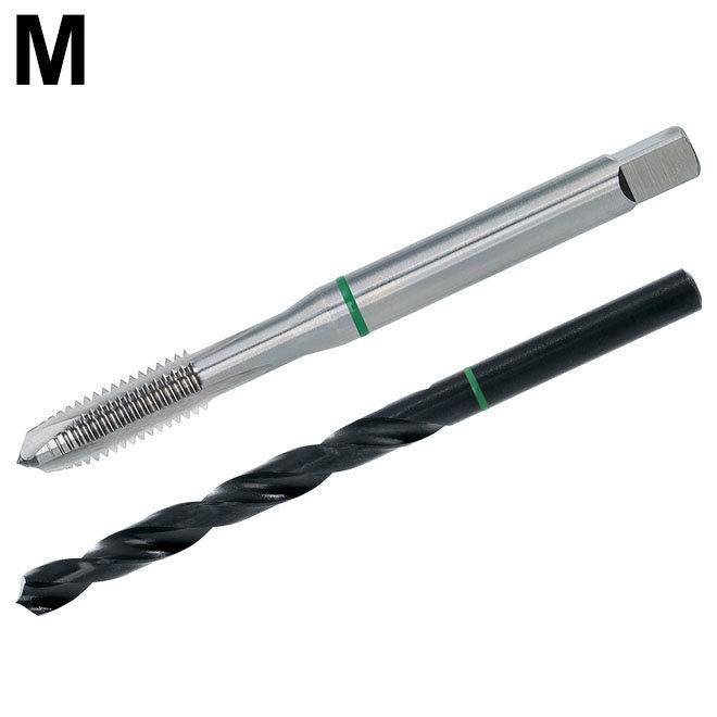 Metrisch - TwinBox - GROENRING - DIN 371/376 - HSS-E - vorm B