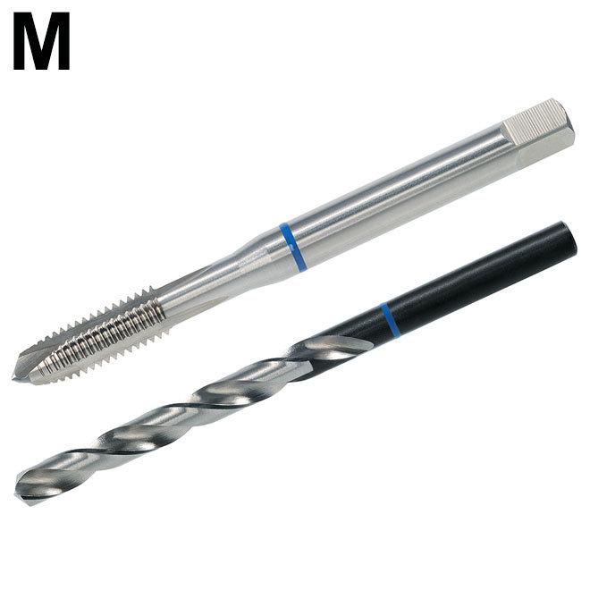 Metrisch - TwinBox - BLAUWRING - DIN 371/376 - HSS-E - vorm B