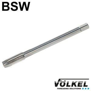 Völkel Machinetap, DIN 376, HSS-E, vorm B, linkse draad BSW 3/4 x 10