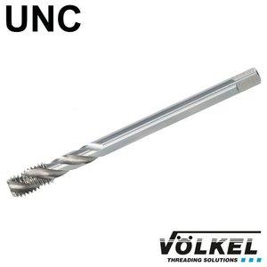 Völkel Machinetap, DIN 376, HSS-E, vorm C / 35° SP met spiraal, linkse draad UNC 7/16 x 14