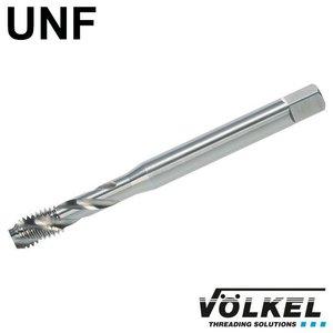 Völkel Machinetap, DIN 371, HSS-E, vorm C / 35° SP met spiraal, linkse draad UNF 1/4 x 28