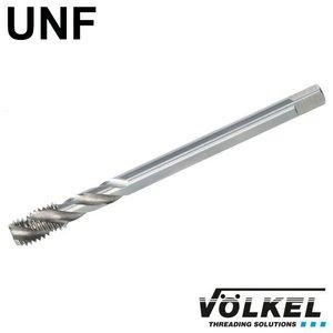 Völkel Machinetap, DIN 376, HSS-E, vorm C / 35° SP met spiraal, linkse draad UNF 9/16 x 18