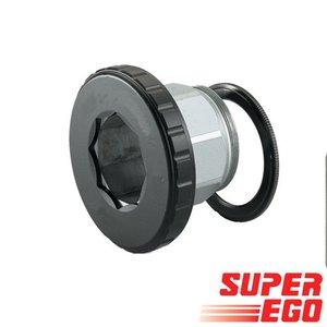 """Super-Ego Automatische adapter 1/4"""" - 3/8"""" - 1/2"""" - 3/4"""" - 1.1/4"""""""