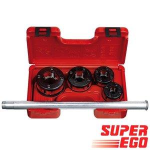 """Super-Ego Draadsnijset Promo 600 BSPT 1/2"""" - 3/4"""" - 1"""" - 1.1/4"""""""