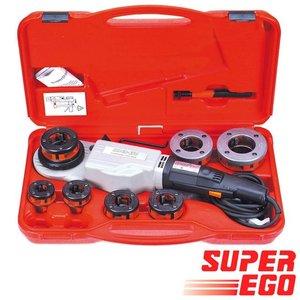 Super-Ego Supertronic 2000 draadsijmachine BSPT 1/2'' - 3/4'' - 1'' - 1.1/4'' - 1.1/2'' - 2''
