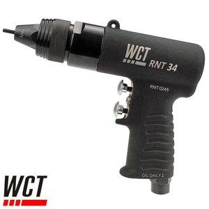 WCT Pneumatische blindklinkmoertang M3, M4 (RNT 34)