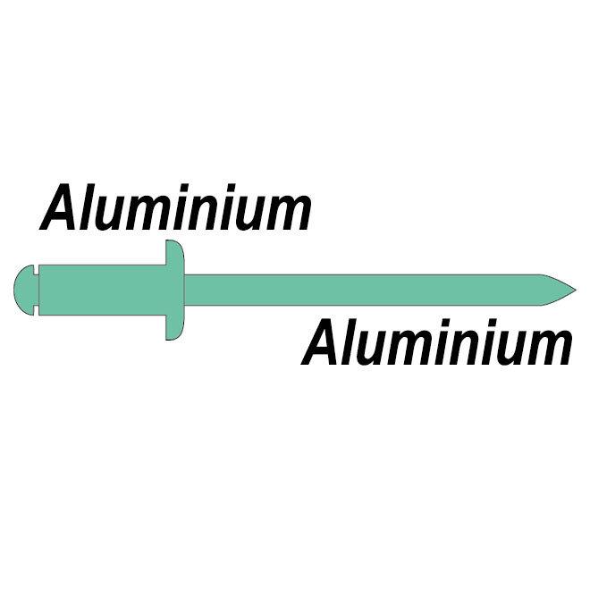 Body aluminium - Trekpen aluminium