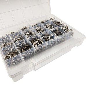 WCT Blindklinkmoeren set 660 delig - aluminium