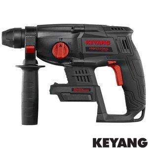 Keyang Accu combiboorhamer HD18BL, 18v, SDS-PLUS, koolborstelloos