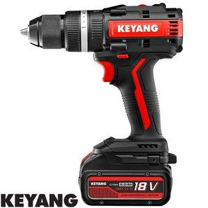 Keyang Accu (klop)boor-schroefmachine DM20BLA70C, 13mm, 70Nm, 18V, 2 x 5.0Ah