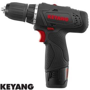 Keyang Accu boor-schroefmachine DD1202L2, 10mm, 30Nm, 10.8V, 2 x 2.0Ah
