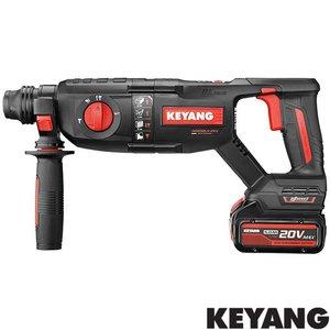 Keyang Accu combiboorhamer HD20BLH-26V, 18v, 2 x 5.0Ah, SDS-PLUS