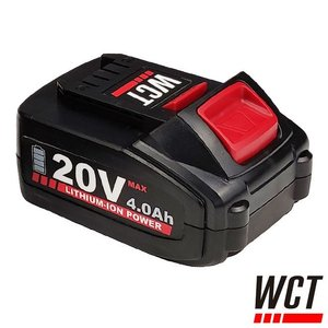 WCT Accu 20V - 4.0Ah Li-Ion - RNT 4000, RVT 2000, RVT 3000