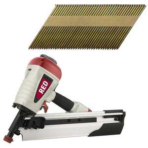 RGN SRN10034-2 Stripnagel tacker 34° + 10.000 spijkers 50, 75 en 90mm