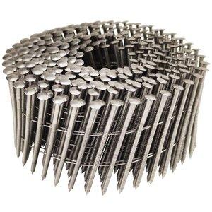 WCT Coilnagels 2,8x75mm - RVS - geringde schacht - 6.000st