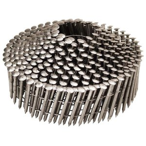 WCT Coilnagels 2,1x38mm - RVS - geringde schacht - 350st