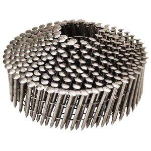 WCT Coilnagels 2,1x38mm - RVS - geringde schacht - 12.600st