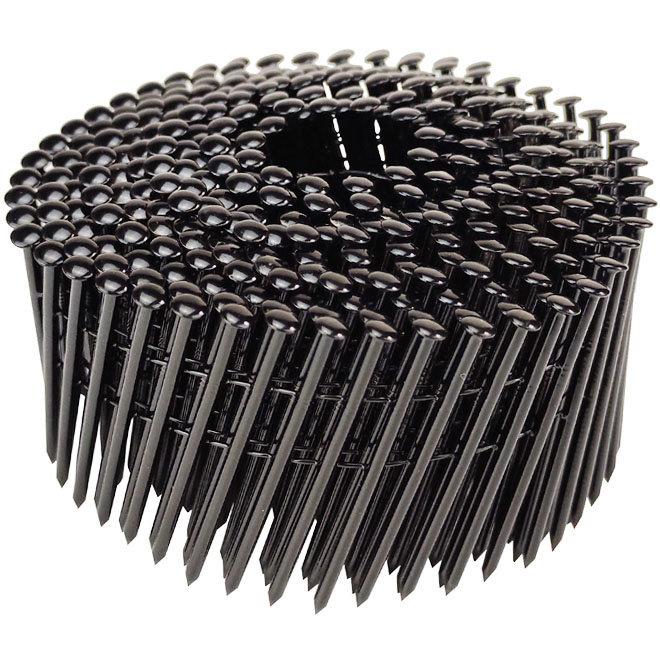Zwarte RVS coilnagels