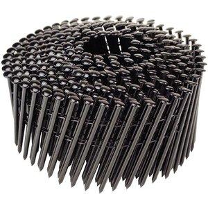 WCT Zwarte coilnagels 2,1x50mm - RVS - geringde schacht - 3.500st