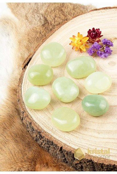 Jade trommelstenen