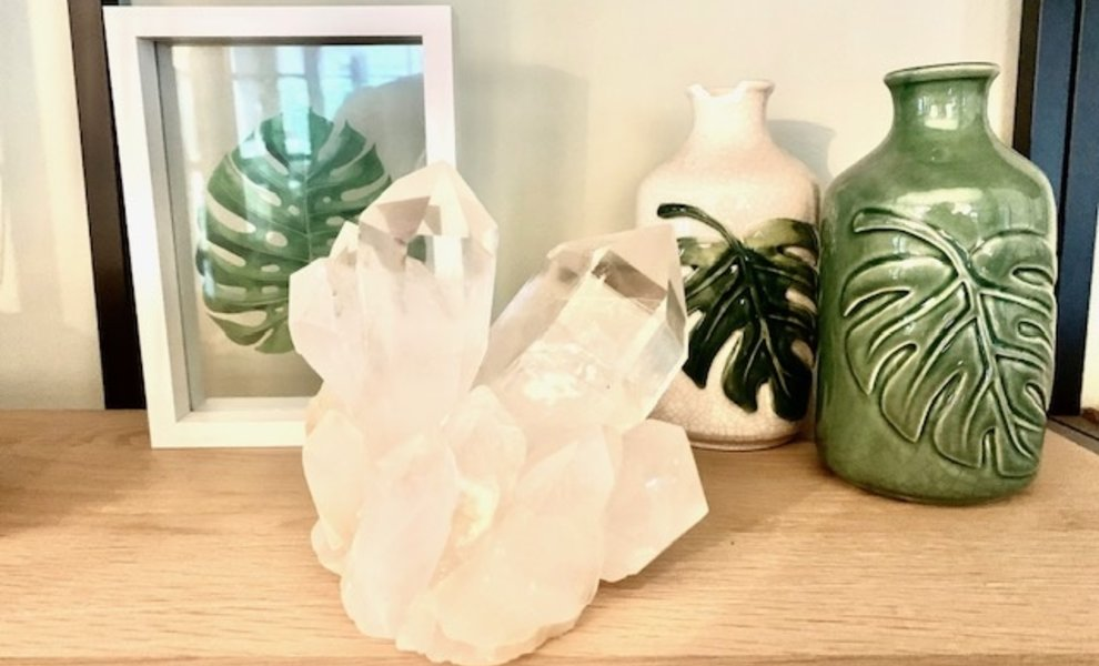 Kristallen in huis