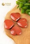 Rode Jaspis Hartje - 42 x 40 mm