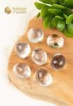 Bergkristal trommelstenen EX - maat M