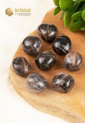Zwarte Maansteen trommelstenen