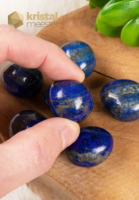 Lapis Lazuli trommelstenen - maat S