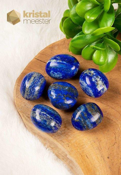Lapis Lazuli trommelstenen - maat m