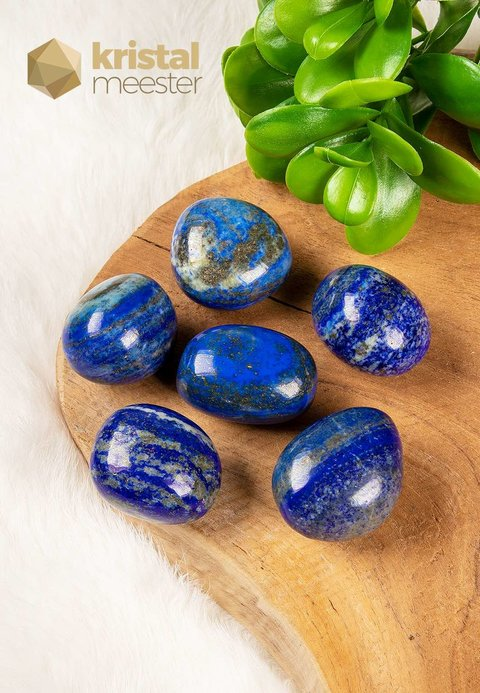 Lapis Lazuli trommelstenen - maat L