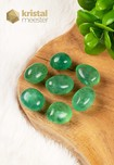 Groene Fluoriet trommelstenen - maat M