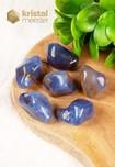 Blauwe Chalcedoon trommelstenen EX - maat L