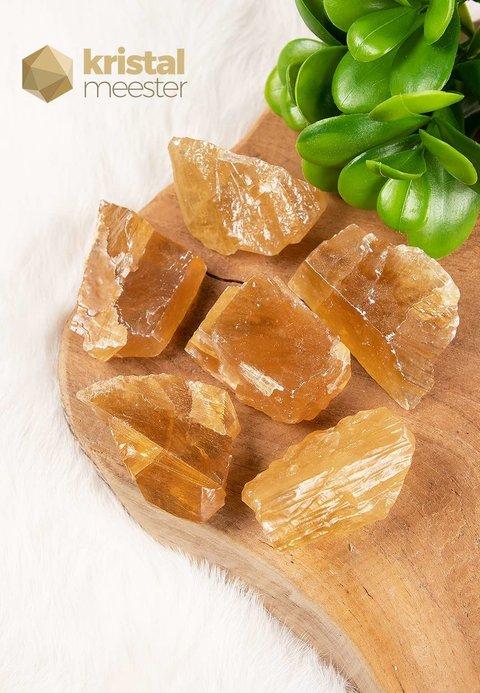 Honing Calciet Ruw - Maat S