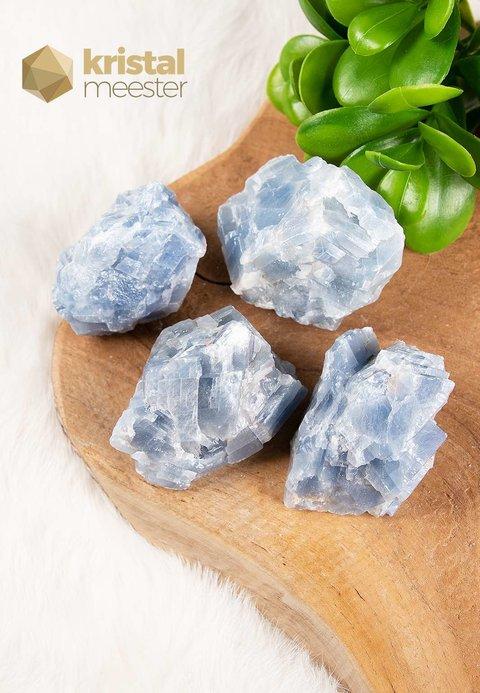 Blauwe Calciet Ruw - Maat M