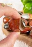 Polychroom Jaspis amuletstenen