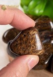 Bronziet trommelstenen - maat M