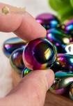 Titanium Aura Kwarts Trommelstenen - maat M