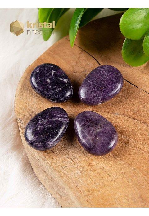 Purple Heart (Fluoriet) hanger - doorboord