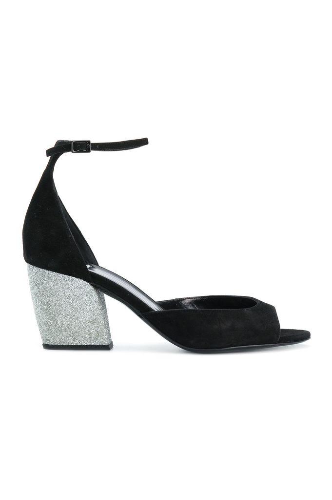 Pierre Hardy calamity suede glitter sandal